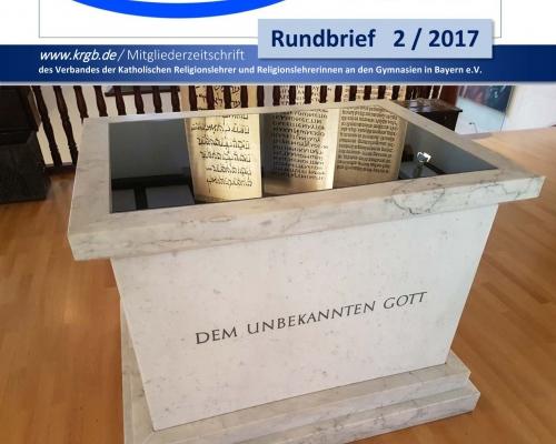 Der Rundbrief 2/2017 Digital-Ausgabe