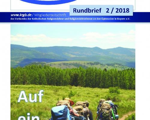Der Rundbrief 2/2018 Digital-Ausgabe